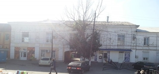 """Современный вид здания, вид от спортивного комплекса """"МИР"""""""