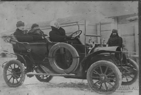 Рубцов Ф.С. в своем автомобиле