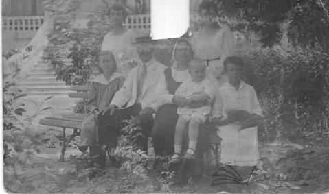 Семьи Красновых и Рубцова, 1918 г.