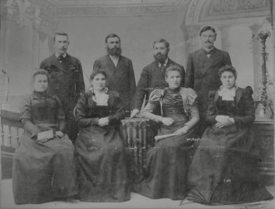 Семья Рубцовых